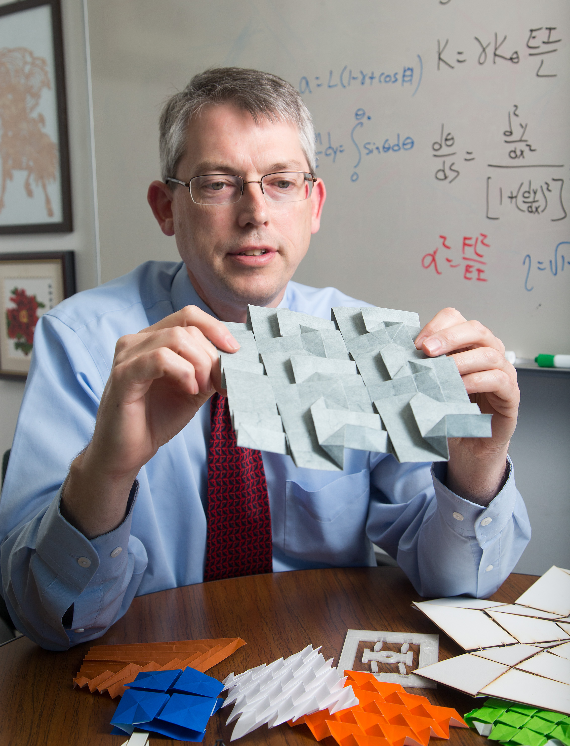 mechanical engineering professor larry howell and a team of researchers from byu and nasa are using origami to create space equipment - Astronomy Jobs At Nasa