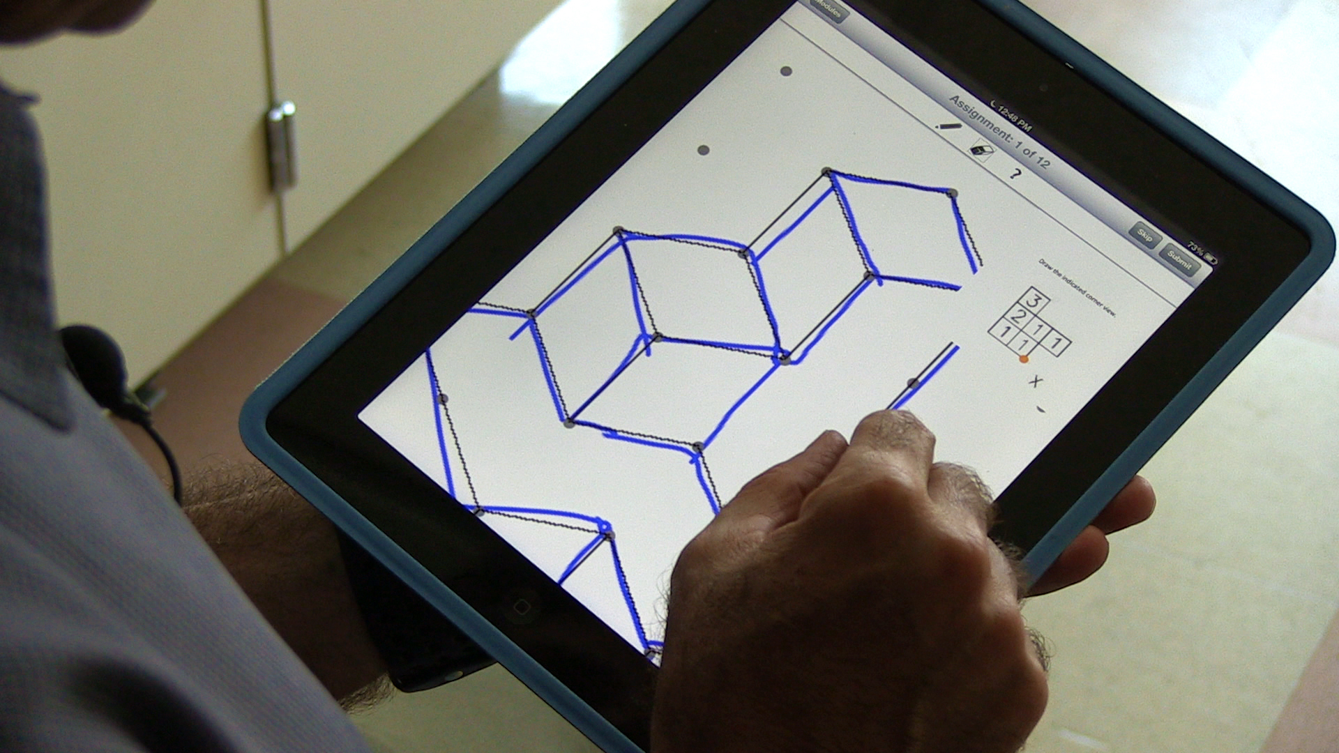 Ipad app teaches students key skill for success in math for 3d design app