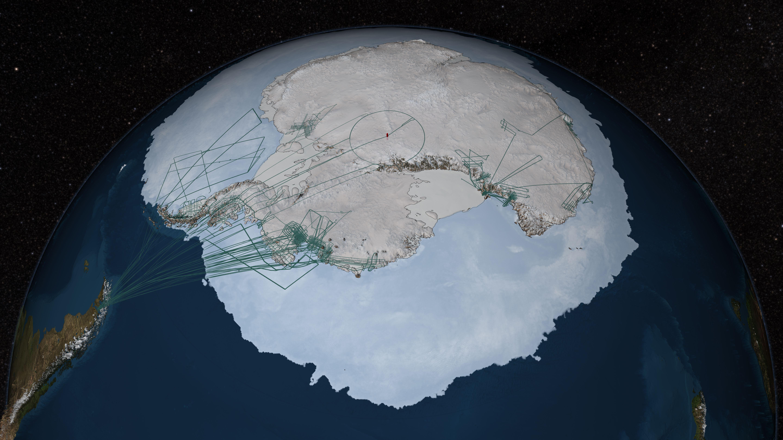 Nasas icebridge mission contributes to new map of antarctica gumiabroncs Gallery