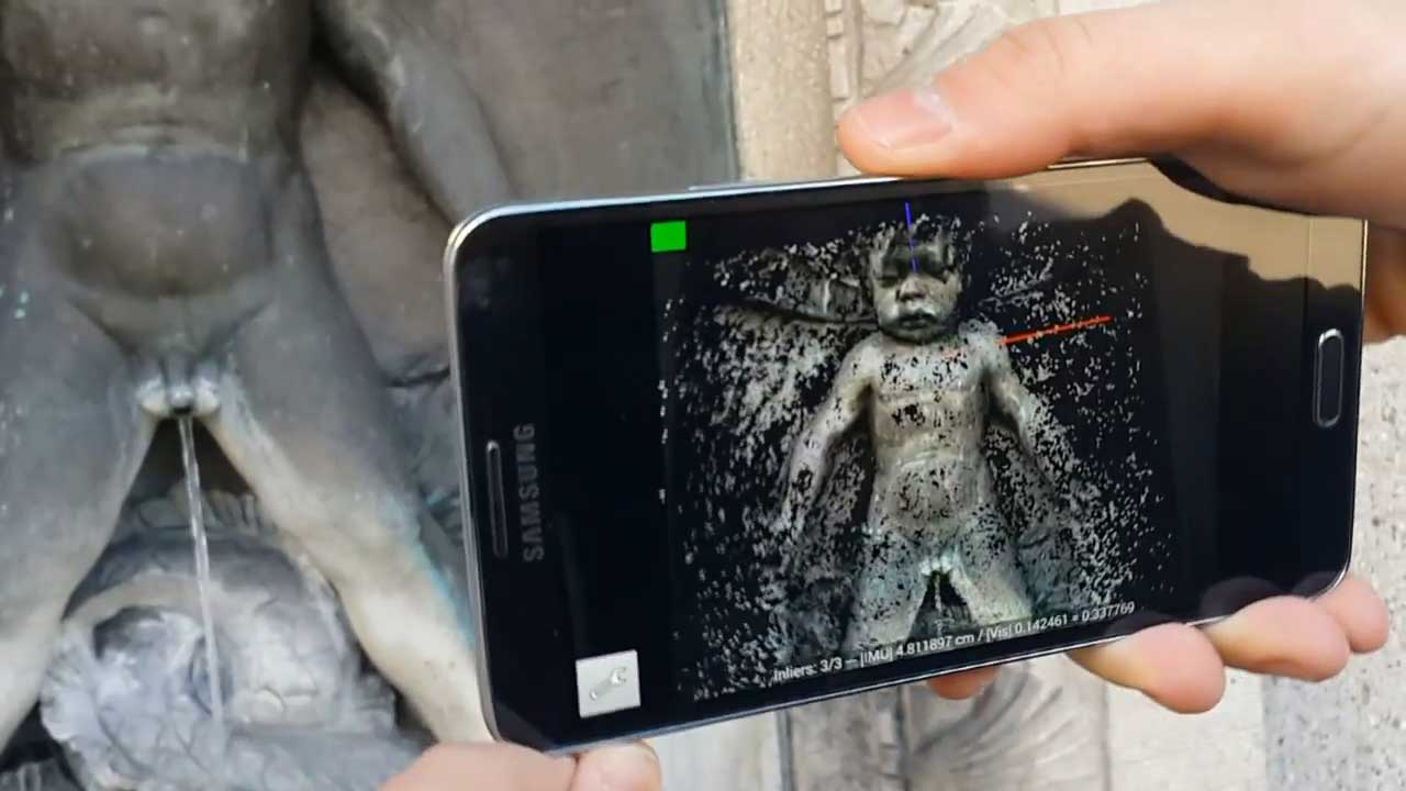 Your Smartphone As A 3d Scanner Scientists Present New