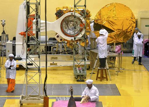 India Sets November 5 For Mars Mission Launch