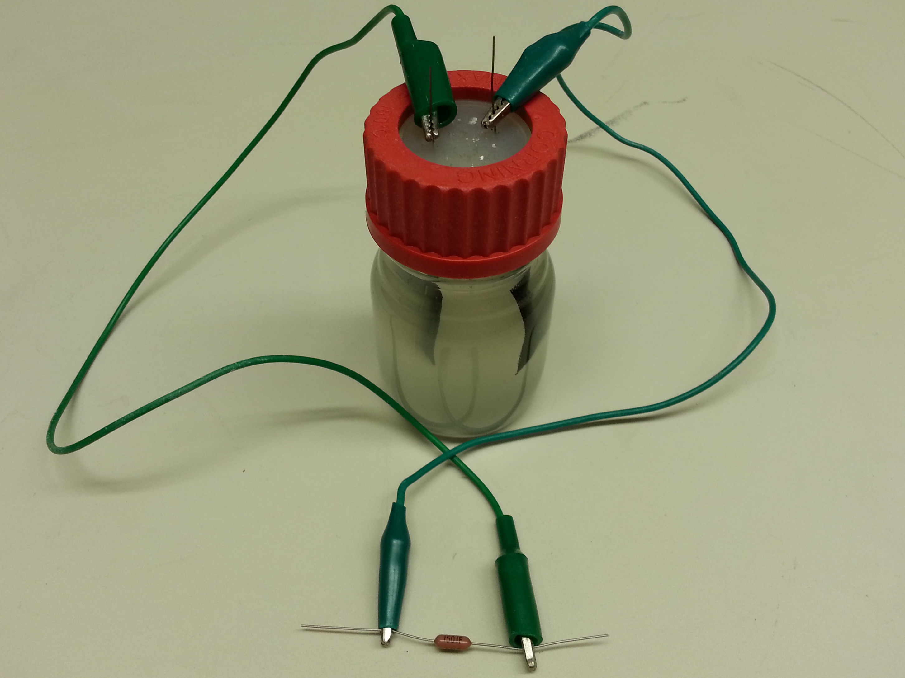 Microbial battery Team uses wired microbes to generate