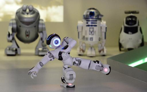 Droids Dance Dogs Nuzzle Humanoids Speak At Madrid Robot Museum