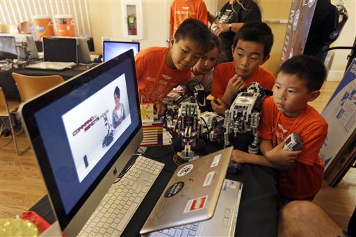 Valley keenly awaits latest Lego robot kit