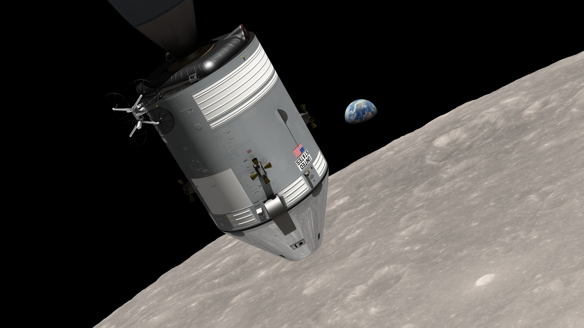 nasa releases new earthrise simulation video