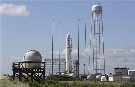 Orbital Sciences about to make first space station run