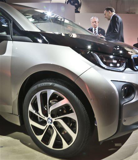 BMW Pulls Wraps Off I3 Electric Car (Update