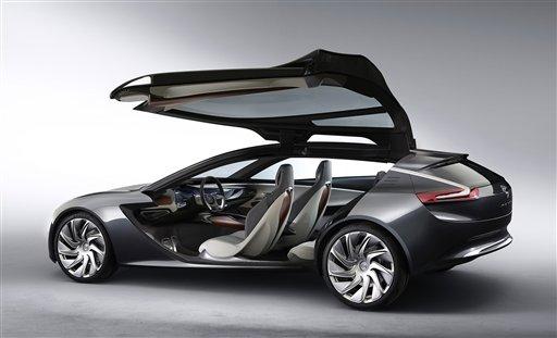 Hybrids Concept Cars Generate Auto Show Buzz Update - Concept car show