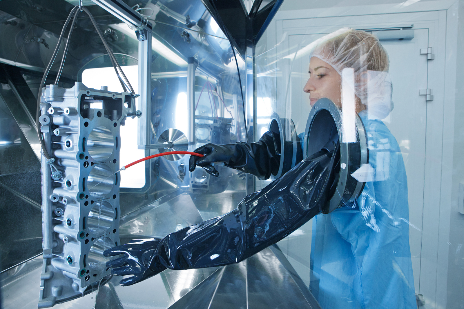 laboratory   cleaning situations