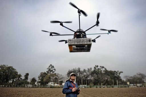 In Peru Drones Used For Agriculture Archeology - Drone maps google