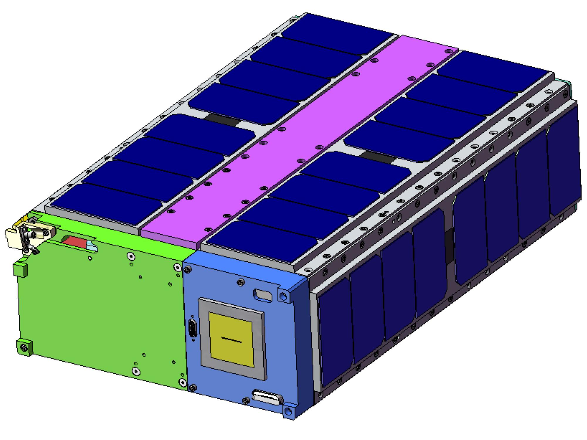 Ames' E. coli small satellite study selected for flight