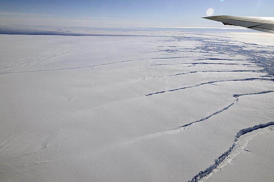 Rhode Island Size Glacier