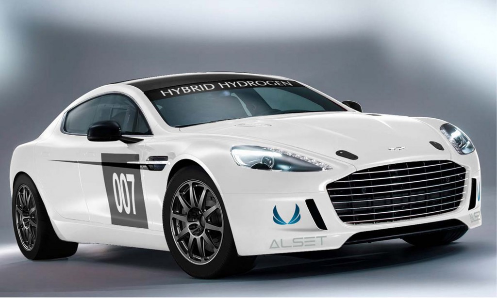 Aston Martin s hybrid hydrogen car set for 24-hour race f7da7a166