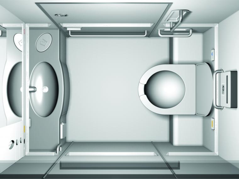 BrailleWise aircraft toilet: Making air travel easier for