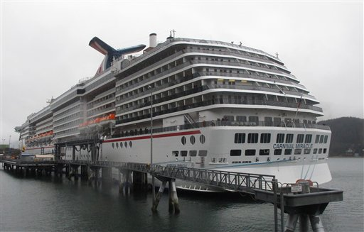 To Cut Pollution From Cruise Ships - Largest cruise ship engines