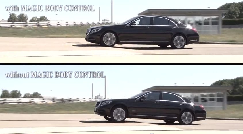 Mercedes Benz S Class Stability System Uses Sensors Stereo Camera