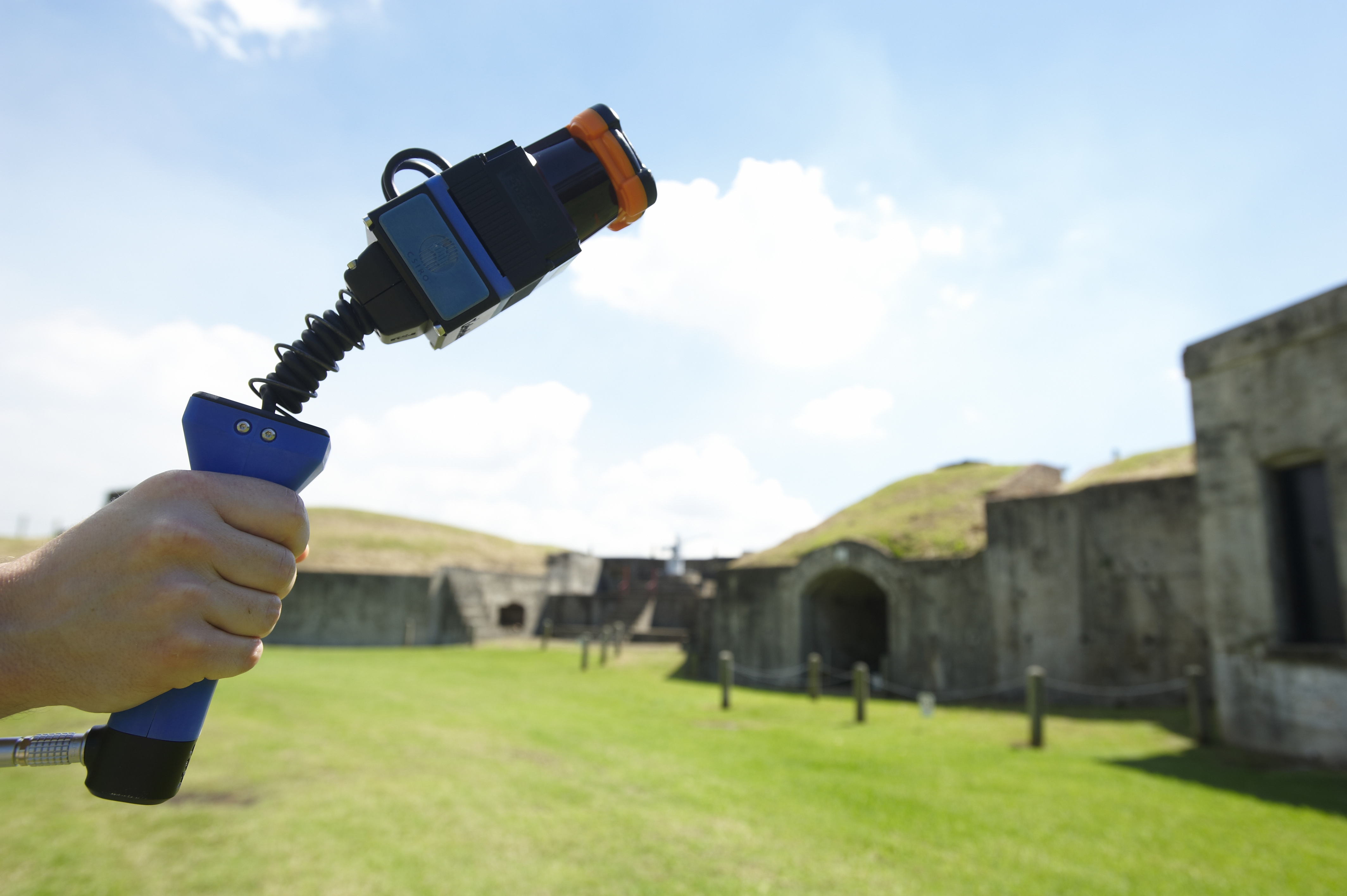 World First 3 D Mobile Mapping Project