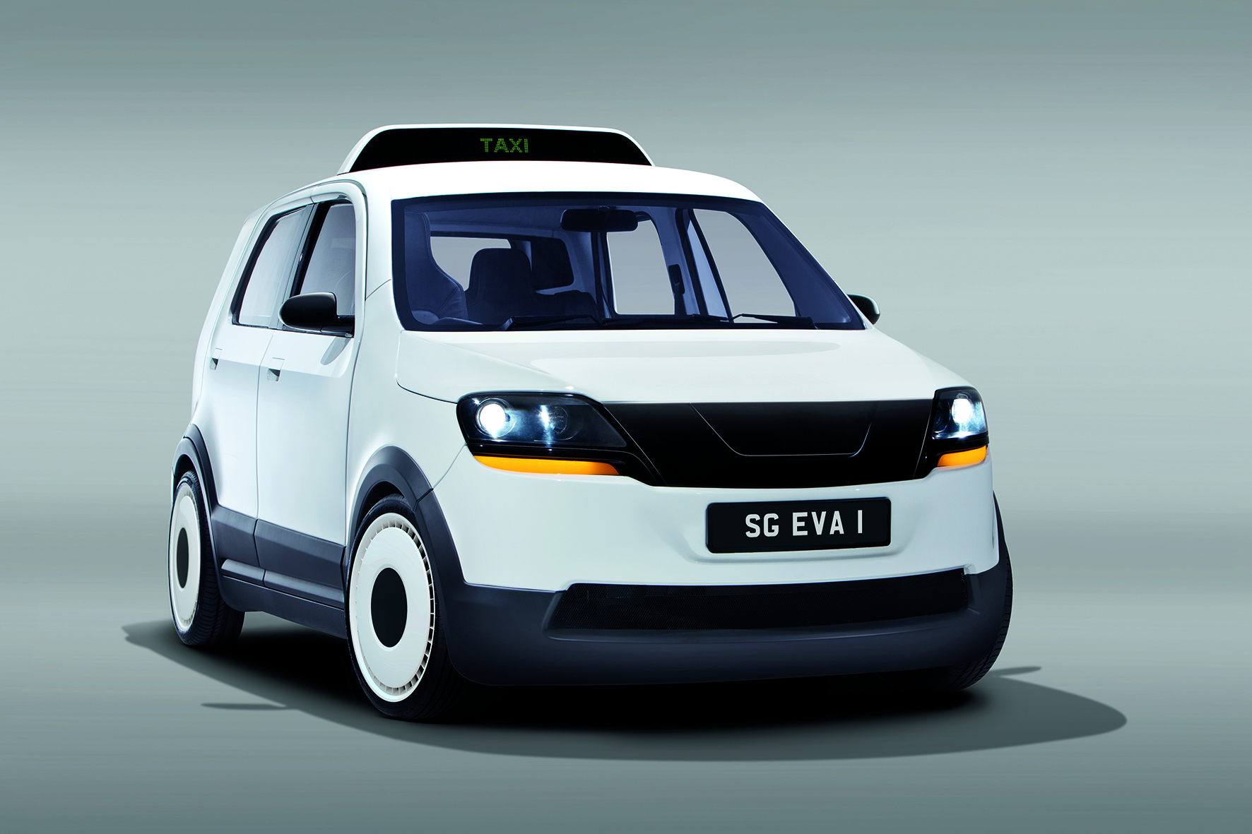 Electric Taxi Eva For Tropical Megacities
