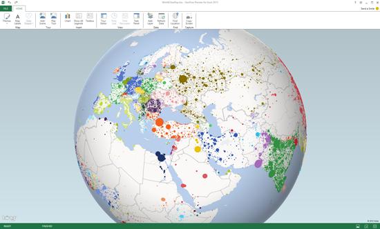excel data visualization