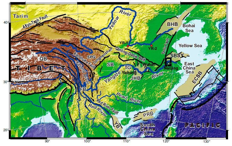 Worksheet. research suggests Yangtze River is at least 23 million years old