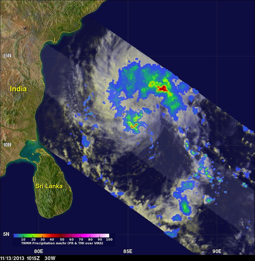 Storm Updates NASA Satellites See Cyclone A Make Landfall In - Latest satellite view