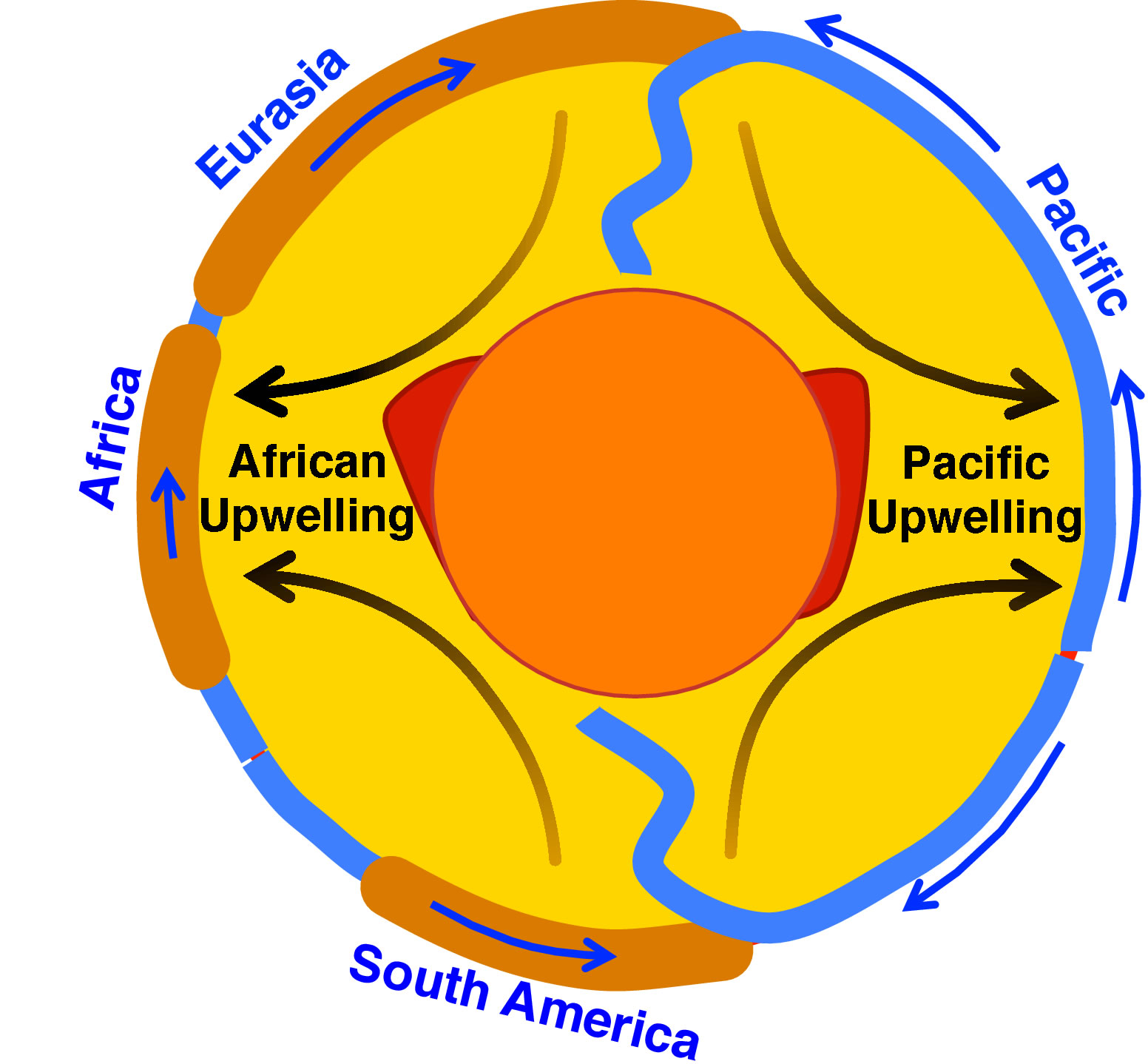 Location of upwelling in earths mantle discovered to be stable ccuart Gallery