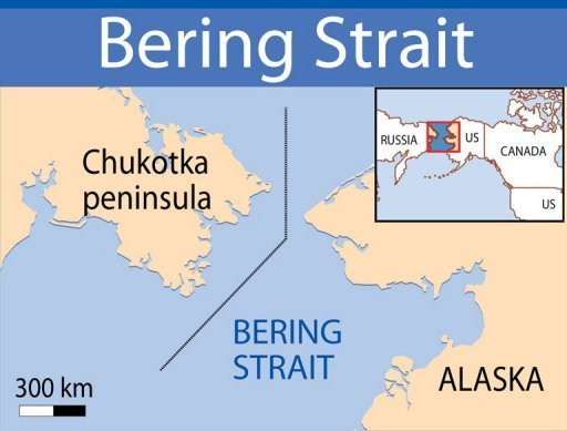 World Map Bering Strait.Russian National Park To Bridge Us Russia Divide