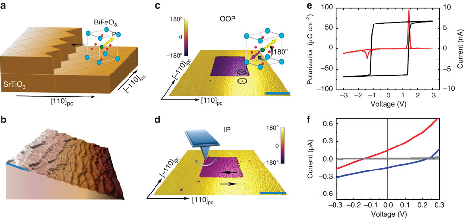 Material Scientists Build Ferroelectric Memory Device