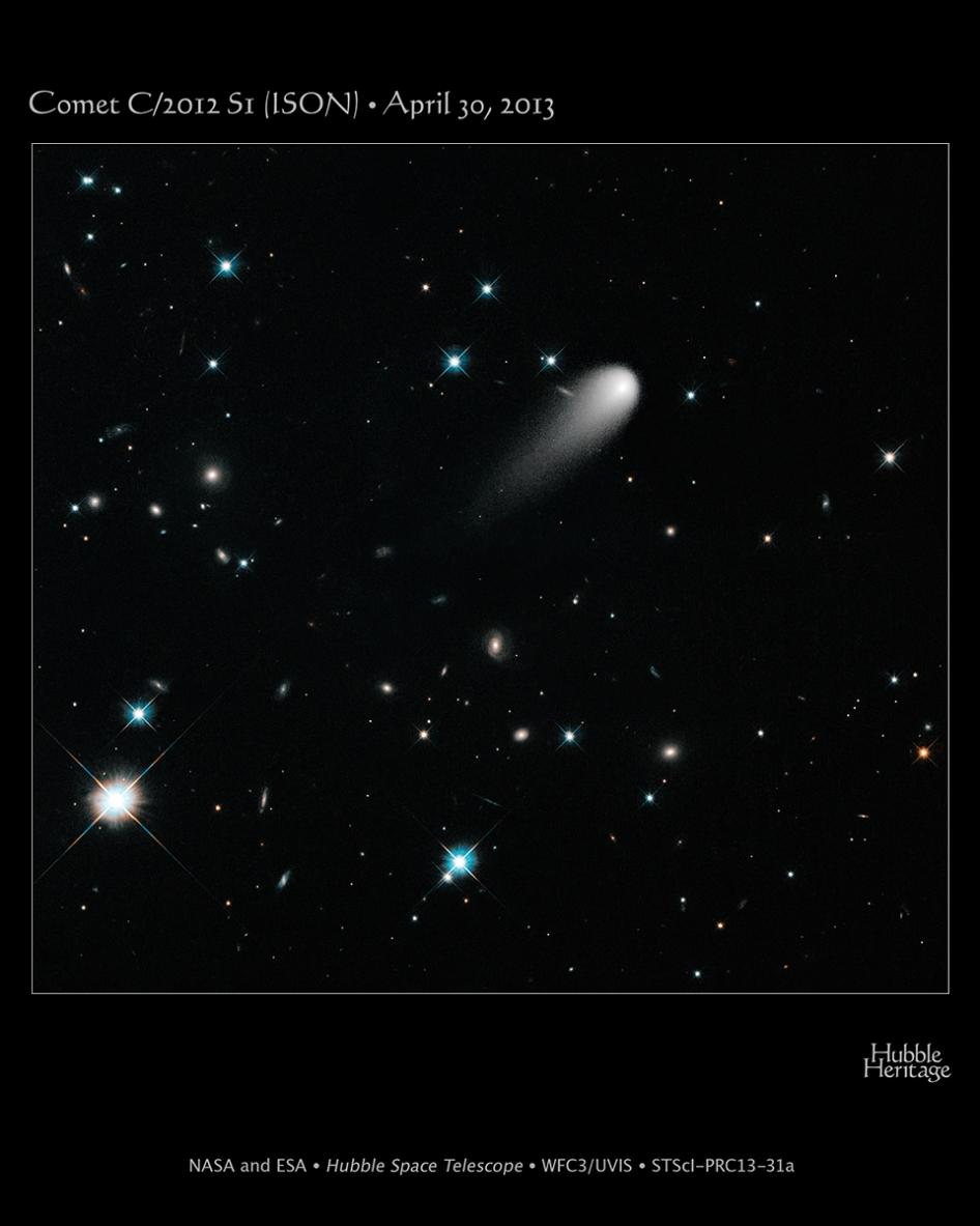 NASA's Hubble: Galaxies, Comets, and Stars! Oh My!