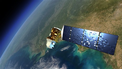 Latest Earth Satellite Launches From Us Coast - Recent satellite pictures