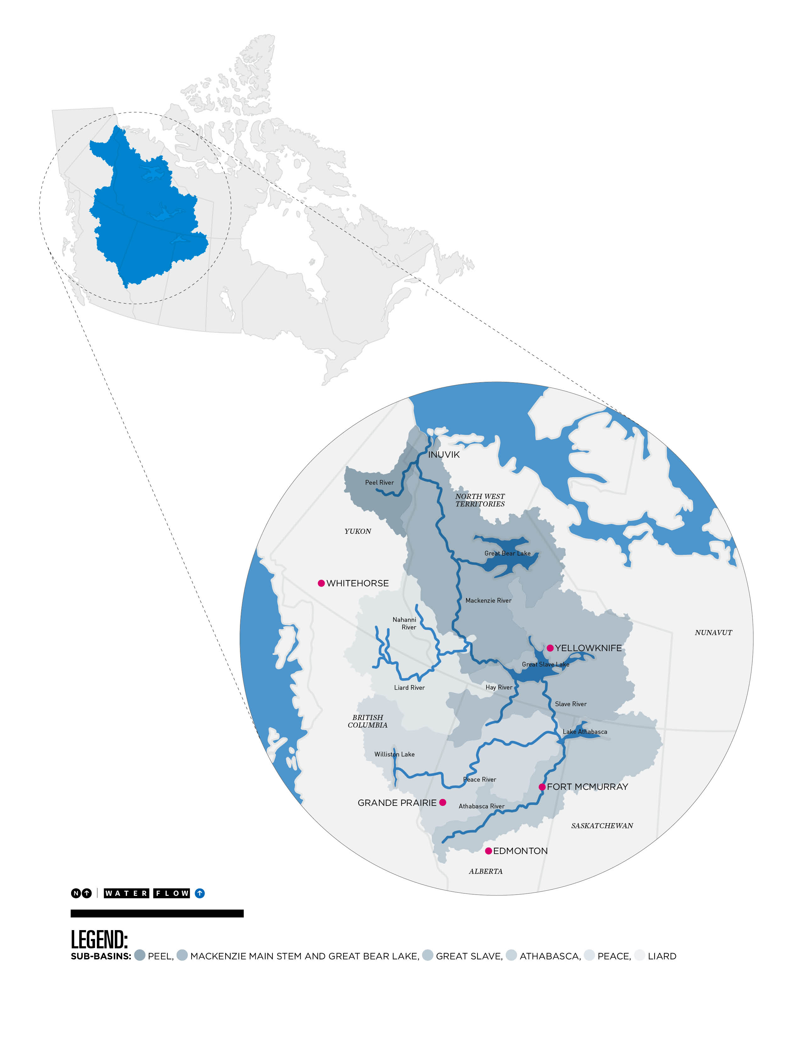 Catastrophic changes underway in canadas northern mackenzie river potentially catastrophic changes underway in canadas northern mackenzie river basin report publicscrutiny Choice Image