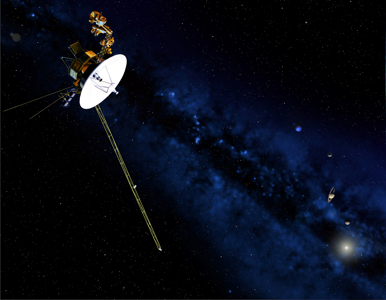 Pulsars make a GPS for the cosmos