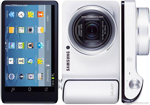 Samsung fuses tablet, camera