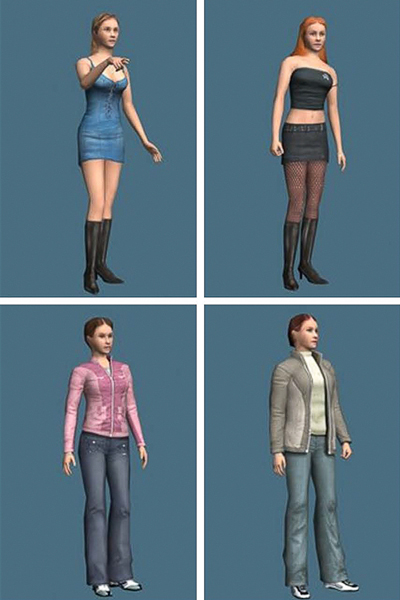 Sexualized Avatars Affect The Real World, Researchers Find-2720