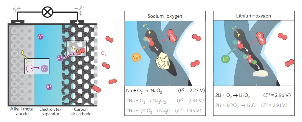 Analysis of Air Cathode Perfomance for Lithium-Air Batteries
