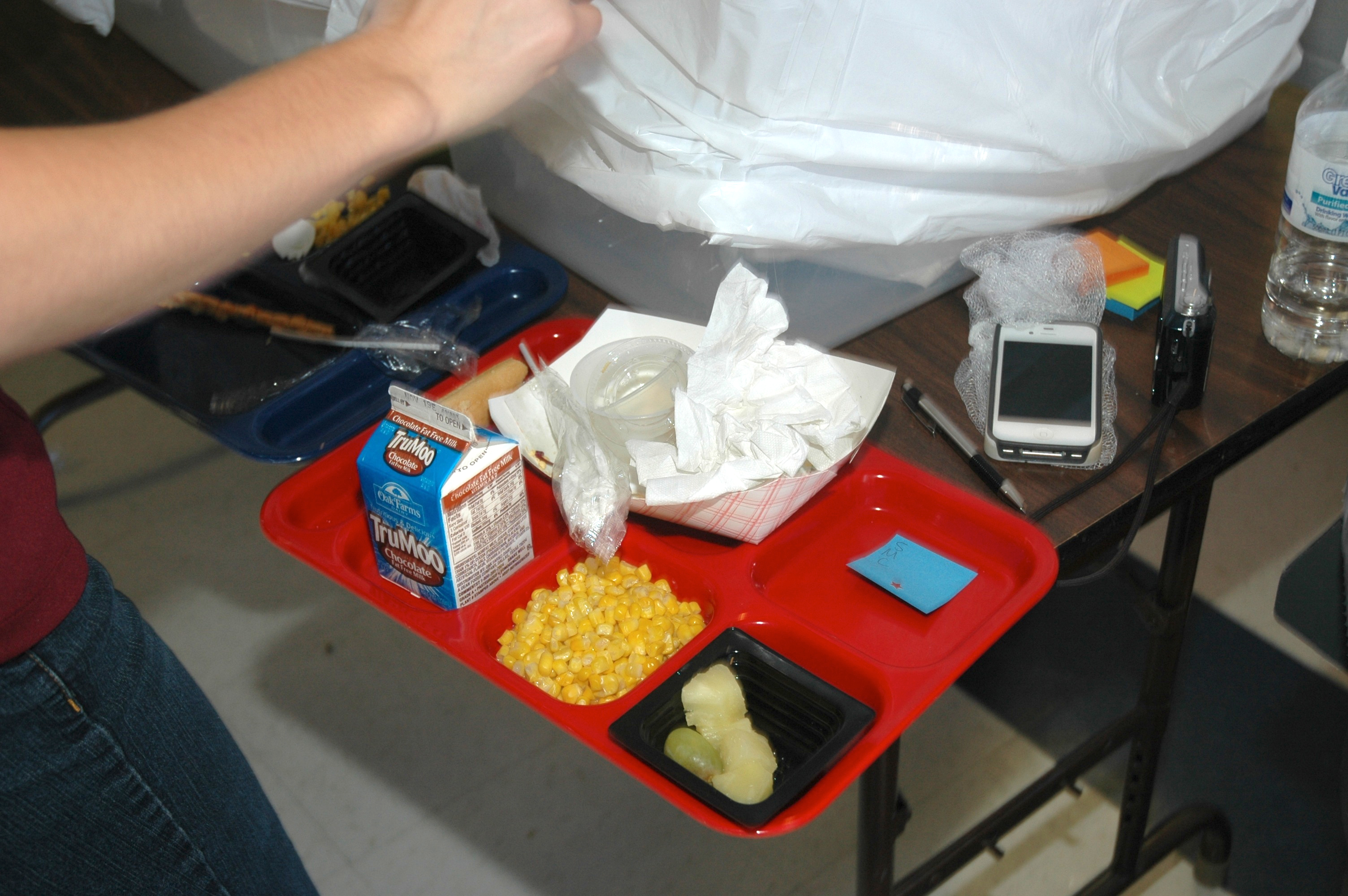 School Lunch Waste among Middle School Students ...