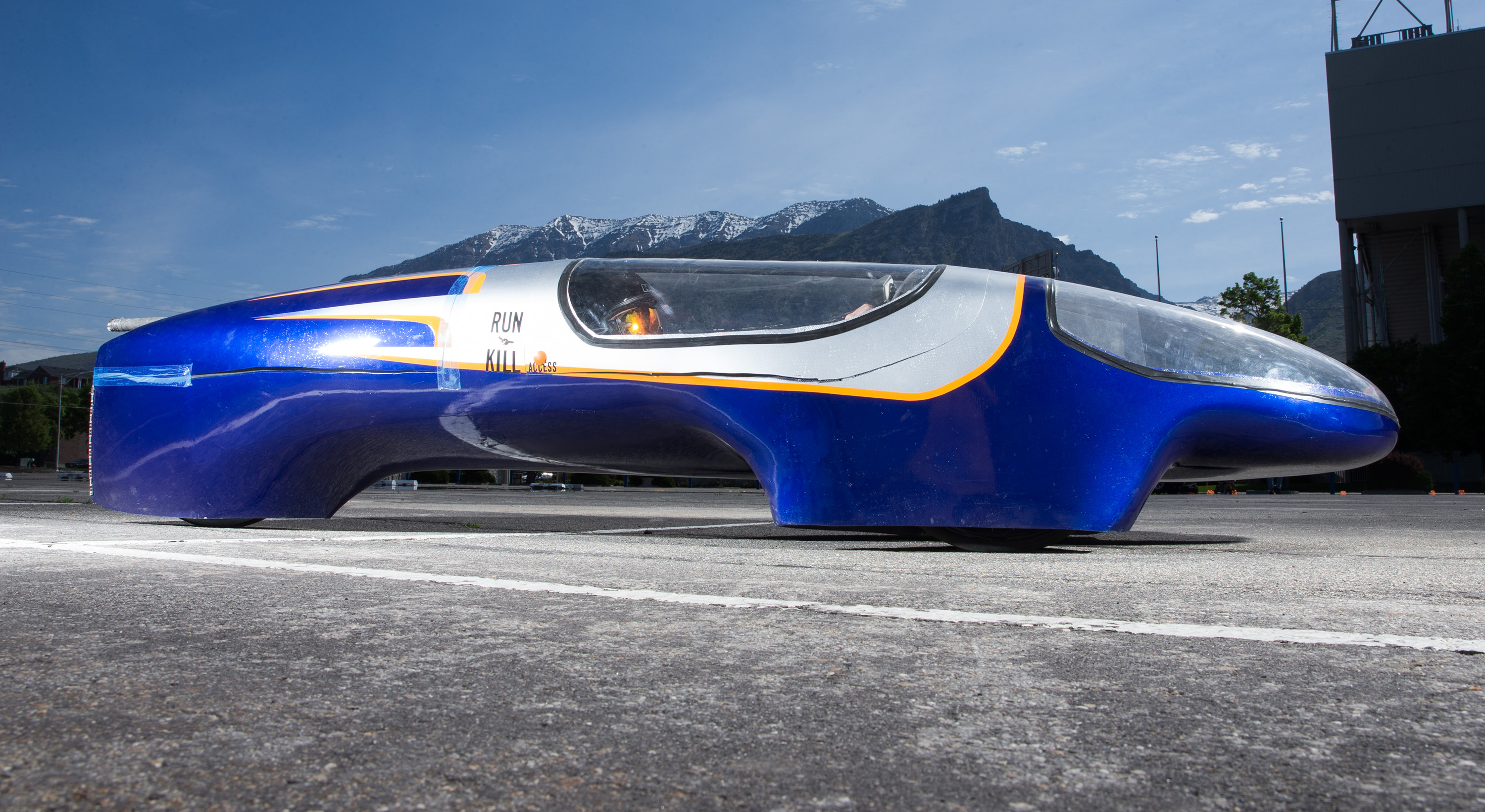 Supermileage Vehicle Is All About The Mpg Not The Mph