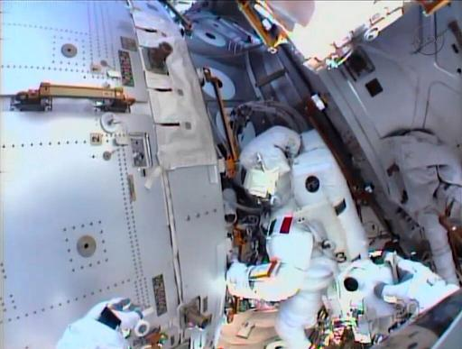 NASA mulls spacewalks to fix space station
