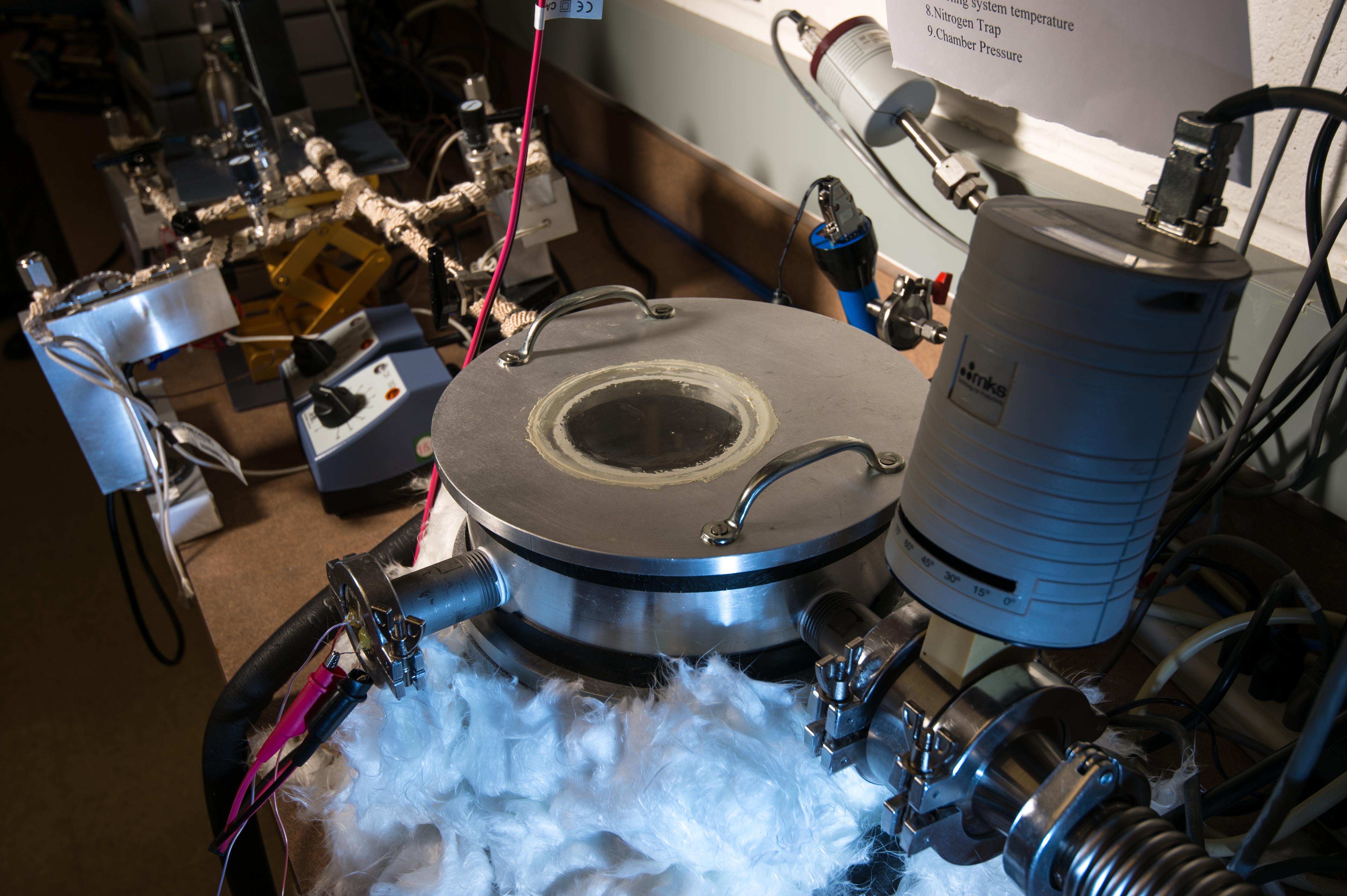 Turning Vapors Into Foam Like Polymer Coatings