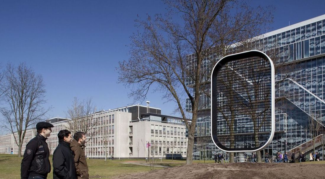 Researchers Team Up With Architects To Create Bladeless: wind architecture