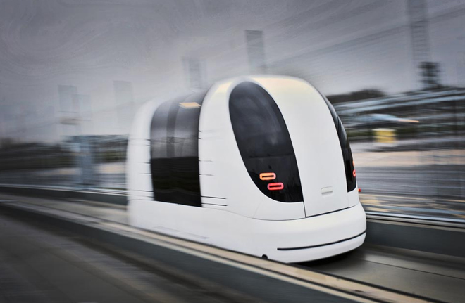 U K Town To Deploy Driverless Pods To Replace Busses