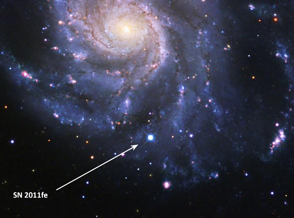 Material expulsado por la supernova SN 1987A - YouTube