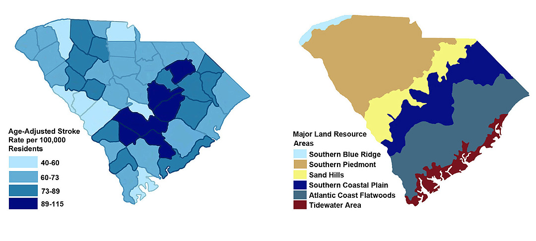 Usda study hints at possible links between soil for South carolina soil