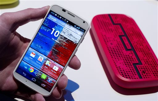 Moto X: Motorola unveils its first Google smartphone