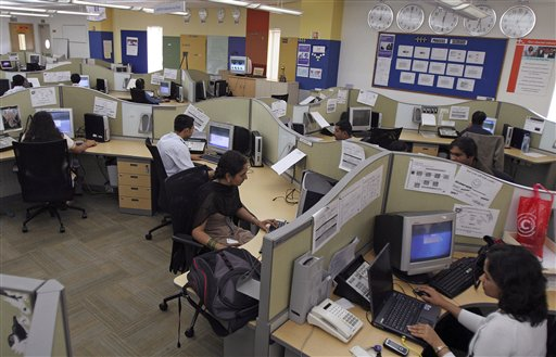 us companies outsourcing to india