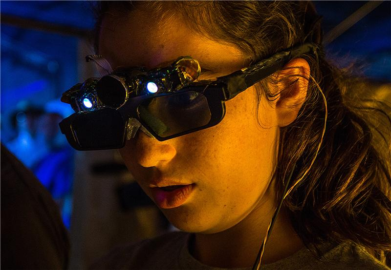 Artificial Intelligence Lenses For The Blind Created