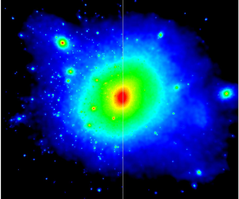 dark matter could explain Milky Way's missing satellite galaxies