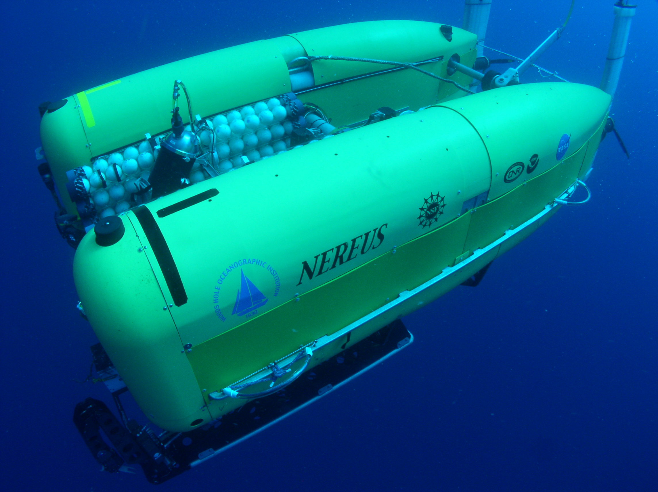 Scientists explore one of earths deepest ocean trenches deepest ocean trenches researchers will use the deep submergence vehicle nereus in their explorations credit whoi publicscrutiny Images
