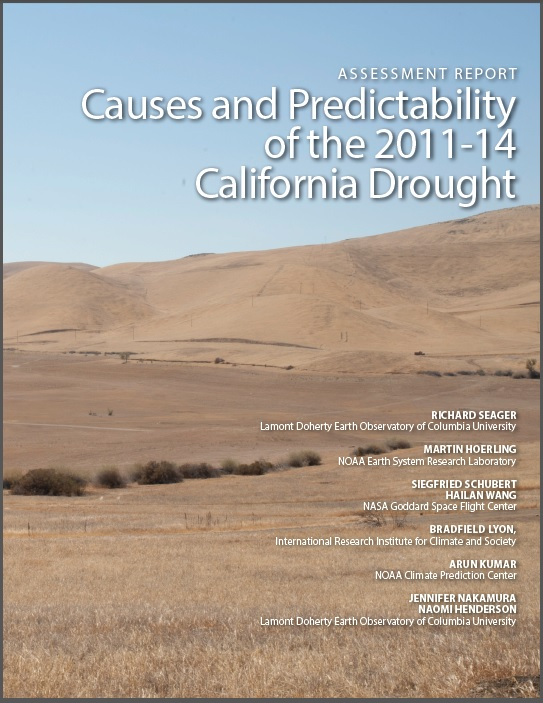 6a1e1f83becad NOAA  Researchers offer new insights into predicting future droughts in  California. Cover of the NOAA report. Credit  NOAA