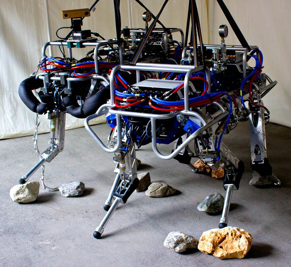 Smarter hyq robot squat jumps and does flying trots w video